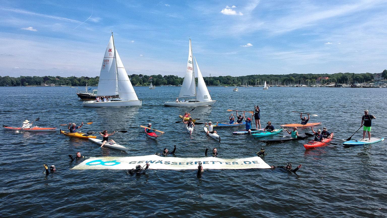 Gemeinsam gegen Gewässerverschmutzung – eine Aktion des NABU
